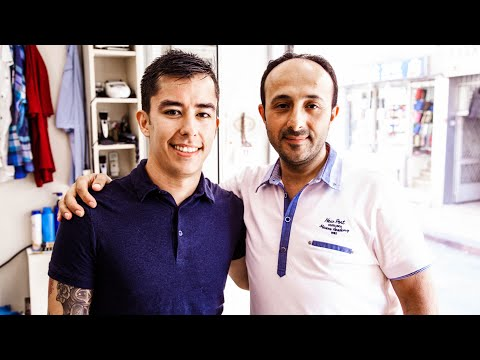 The Turkish Barber Shave and Head Massage (Grand Bazaar, Istanbul)
