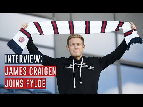 INTERVIEW | James Craigen Joins AFC Fylde