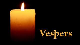 Vespers 3.10.21
