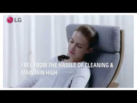 LG DUAL Inverter Heat Pump™ Dryer – Hassle Free Self Cleaning