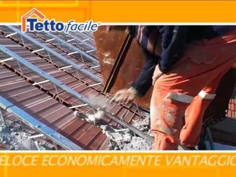 Tettofacile tetto ventilato montaggio tavelloni youtube for Montaggio tetto in legno ventilato