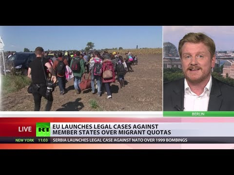 Migrant Crisis Fallout: EU launches legal cases against states over refugee quotas