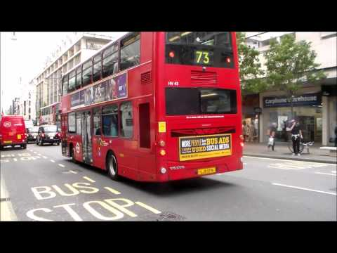 Buses in Oxford Street 01/06/2015