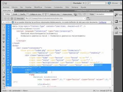 Tutorial Calculadora Web 2 (javascript)