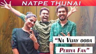 Natpe Thunai | Hip Hop Tamizha Adhi interview