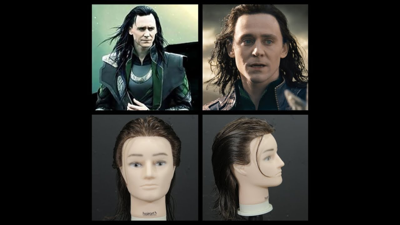 Loki Tom Hiddleston Haircut Tutorial Youtube