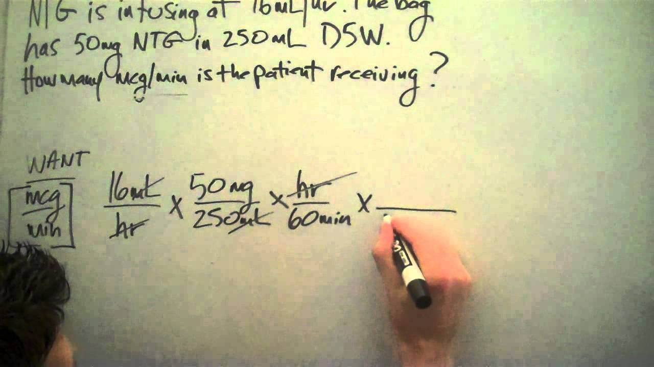 Medical Math for Nurses Broward College NTG - Dimensinal Analysis ...