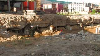 Демонтаж (снос) здания методом ГДШ в Архангельске(, 2013-08-01T09:25:20.000Z)