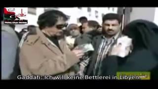 Repeat youtube video Gaddafi demütigt Niqab-Schwester!!!