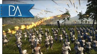 Brutal Samurai Charge Through a Storm of Arrows! - Total War Shogun...