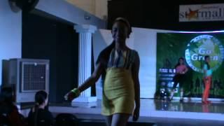 Go Green model preteens at star mall Laspinas