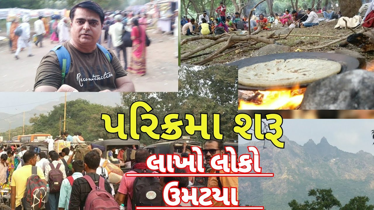 Girnar Parikrama 2019 | Million visitors coming | best food service | Traditional food making style