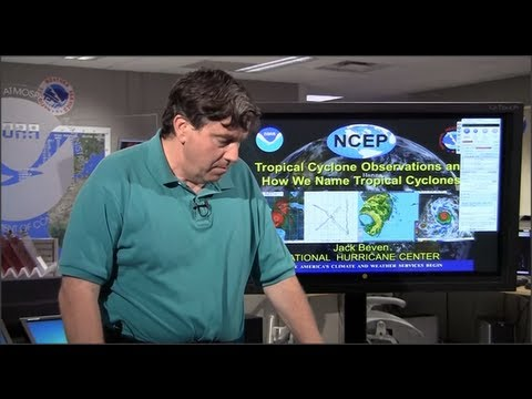 NHC Continuing Education Webinar: Observing and Naming of Tropical Cyclones