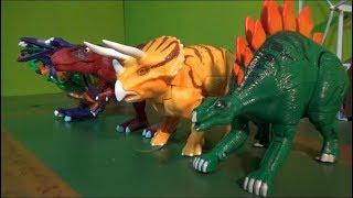 헬로카봇 4마리 공룡 로봇 변신 장난감 놀이 Hello Carbot 4 Dinosaurs Robot Transformation Toys Play