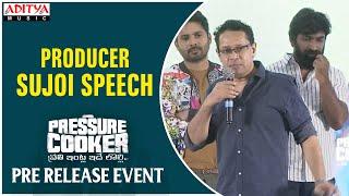 Producer Sujoi Speech @ Pressure Cooker Movie Pre Release Event