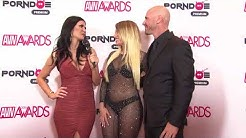 PornDoe Premium interview with Kissa Sins and Kissa Sins @ the AVN Awards 2016