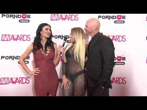 PornDoe Premium interview with Kissa Sins and Kissa Sins @ the AVN Awards 2016