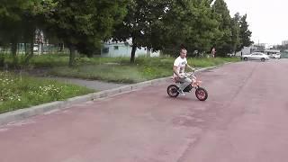 Обзор минимото Dirt Bike Delta 49cc
