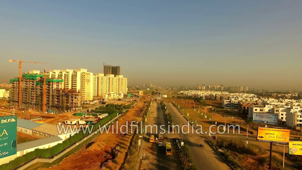 Flying to DLF Garden City, SkyCourt, Regal Gardens, New Town Heights ...