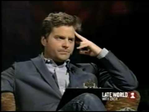 Zach Galifianakis on Bradley Cooper on Late World