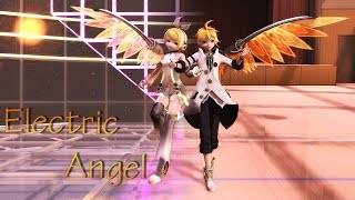 |MMD| Electric Angel |Rin and Len KAGAMINE| Dl motion&camera