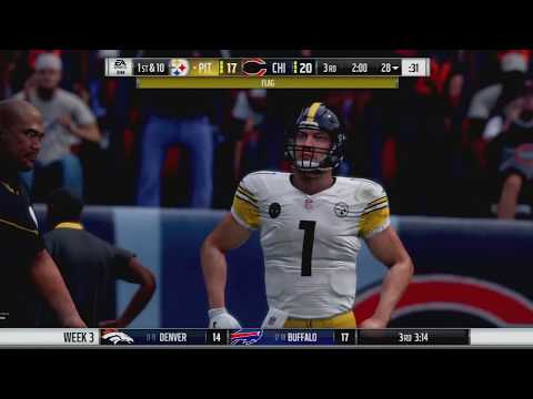 Chicago is a Bear to deal with - Madden 18 Steelers Franchise - The Legend of Bobb Johnson Episode 4