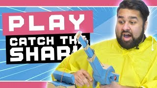 Catching a Shark with the Nintendo Labo Fishing Rod!