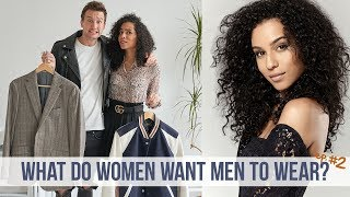 Model Rates my Menswear Outfits | What Women Want Men to Wear #2