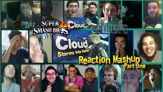 Cloud Strife Storms into Battle! PART ONE (Super Smash Bros. Wii U and 3DS) Reaction Mashup!