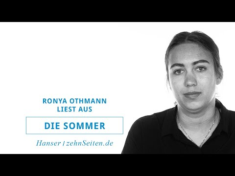 Ronya Othmann liest aus Die Sommer