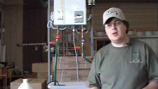 Tankless water heater flushing cleaning