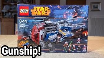 "Ich liebe dieses Set 😍  LEGO Star Wars ""Coruscant Police Gunship"" (75046) Review!"