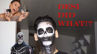 Day Of The Dead Transformation!! FT. DESI PERKINS?!?
