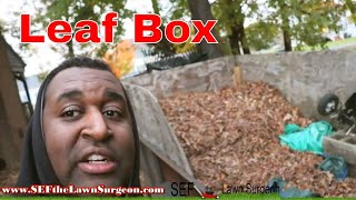 Building New Leaf Vacuum Box - Awesome Subcriber Gifts - Leaf Clean ups thumbnail