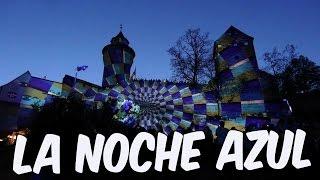 La noche azul - Die blaue Nacht Nürnberg 2016 Keiserburg