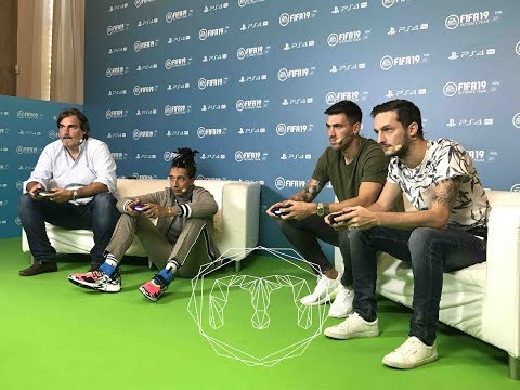 FIFA19 #FIFAFRIDAY @Rohn @Romagnoli Vs. @Ghali @Pardo