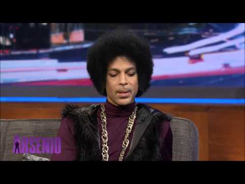 Prince chat with Arsenio 05/03/14