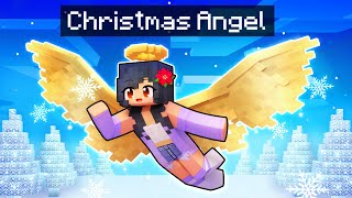 Playing as a Christmas ANGEL in Minecraft!