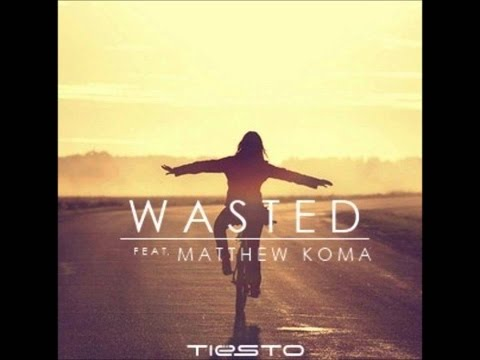 Tiësto ft Matthew Koma- Wasted lyrics (Extended Mix)
