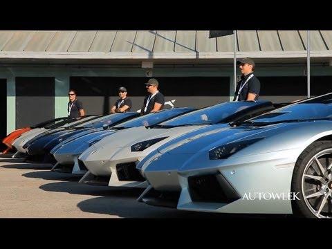 2013 Lamborghini Aventador LP700-4 Roadster - Autoweek drive review