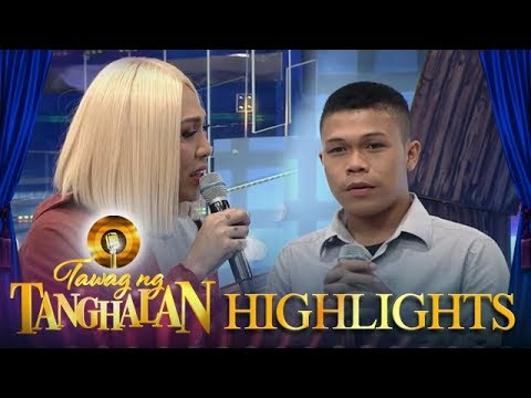 Tawag ng Tanghalan: Vice is fond of Edimar Bongjanoy