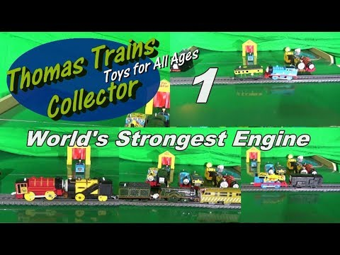 World's Strongest Engine 1: Emily, Diesel 10, Philip, and more compete to see who's the strongest!