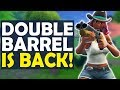 DOUBLE BARREL SHOTGUN IS BACK! | HIGH KILL FUNNY GAME - (Fortnite Battle Royale)