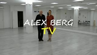 """Урок танго 2# """"Танговый квадрат"""" (Basico) Alex & Rita"""