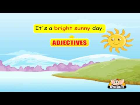 English Grammar Learn Adjectives Youtube