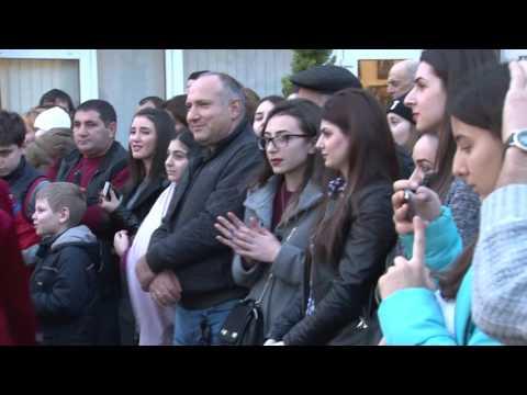 Трндез армянский праздник 2016г Адлер церковь СУРБ САРГИС
