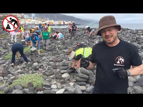 Steinmännchen werden auf Teneriffa zur Plage
