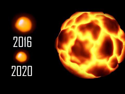 ПОЧЕМУ БЕТЕЛЬГЕЙЗЕ ТУСКНЕЕТ? Первые Звезды во Вселенной   На Венере нашли действующие Вулканы?