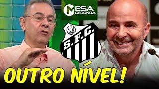 """""""Vai ser DIFÍCIL atingir o nível de SAMPAOLI"""", diz Flávio Prado após Santos 2 x 0 SPFC (27/01/19)"""