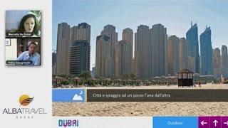 Webinar Dubai e Albatravel, il lusso alla portata di tutti